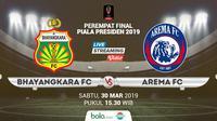 Piala Presiden: Bhayangkara FC vs Arema FC. (Bola.com/Dody Iryawan)