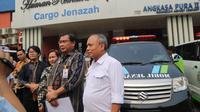 Pemerintah melalui Kementerian Ketenagakerjaan memfasilitasi kepulangan tiga Pekerja Migran Indonesia