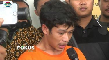 AS, pemotor yang mengamuk saat ditilang petugas di Tangsel, akhirnya ditahan karena terbukti melakukan unsur kriminal. Salah satunya perusakan barang yang bukan miliknya.
