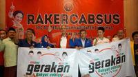 Ganjar Pranowo di Rakercabsus PDIP Banyumas (Dok. Tim Ganjar)