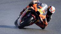 Pol Espargaro  rebut pole di MotoGP Eropa (Jose Jordan/AFP)