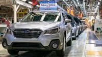 Pabrik Subaru di Lafayette, Indiana, terpaksa ditutup