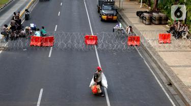 Hingga Sore, Akses Menuju Istana Negara Masih Ditutup