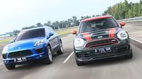 Porsche Macan dan Mini Countryman JCW (Weente/oto.com)