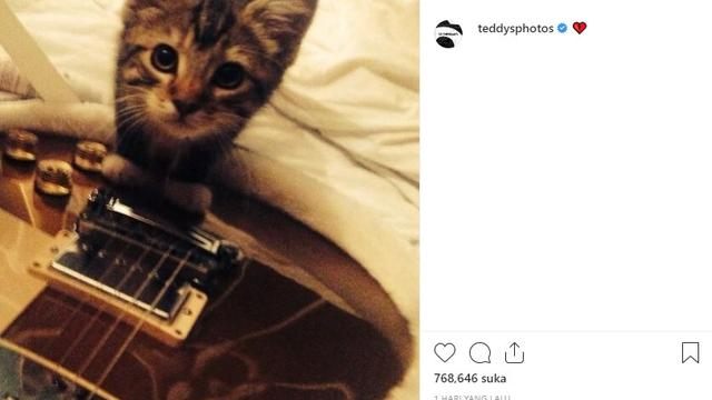 Ed Sheeran (Foto: Instagram/@teddysphotos)