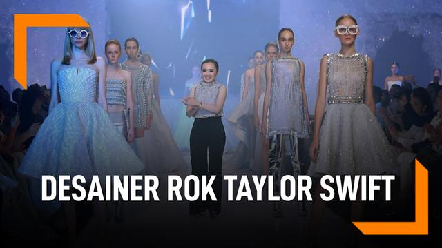 Monica Ivena, Desainer Rok Taylor Swift di Video Klip 'ME'
