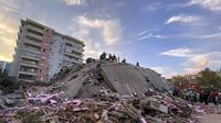 Gempa dan tsunami di Turki. Dok: AP Photo/Ismail Gokmen
