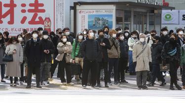 Jepang Berlakukan Sanksi Denda Bagi Pelanggar Aturan COVID-19