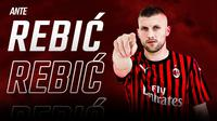 Ante Rebic, striker AC Milan. (dok AC Milan)
