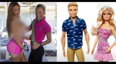 Tak hanya mirip, mereka pun kini memilih bergaya hidup mewah ala pasangan Barbie.