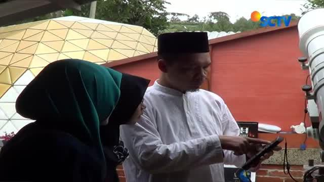 Imah Noong tau Rumah Teropong Lembang, Jawa Barat siap tampung warga yang ingin melihat gerhana bulan total.