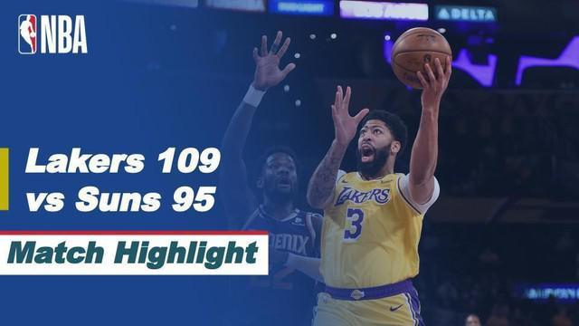 Berita Video Highlights NBA Playoffs, LA Lakers Kalahkan Phoenix Suns 109-95
