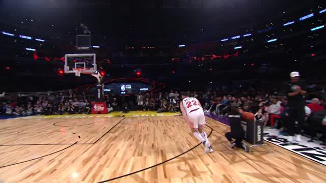 Berita video cuplikan kompetisi Slam Dunk NBA All-Star 2018.