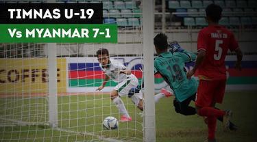 Timnas Indonesia U-19 resmi meraih tempat ketiga dalam Piala AFF U-18. Timnas menang 7-1 atas tuan rumah Myanmar.