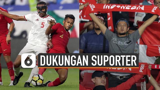 Timnas Sepakbola Indonesia akan menjalani laga kontra Uni Emirat Arab 31 Maret mendatang di Stadion Kapten I Wayan Dipta Gianyar Bali. PSSI berharap pemilihan venue di Bali mempengaruhi ijin FIFA agar dapat menghadirkan suporter Indonesia.