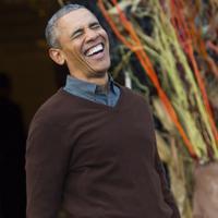 Meskipun statusnya adalah presiden negara adidaya, Barrack Obama tetaplah manusia dan seorang ayah.
