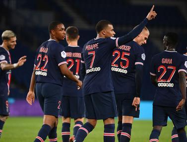Lanjutkan Tren Kemenangan, PSG Pesta Gol ke Gawang Angers