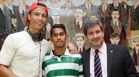 Martunis Bertemu Cristiano Ronaldo (facebook)