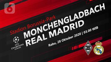 PREDIKSI Borussia Monchengladbach vs Real Madrid