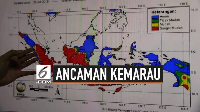 Musim kemarau di Indonesia ternyata dipengaruhi suhu kering Australia. BMKG imbau warga waspada karena sejumlah bahaya mengintai. Apa saja?
