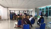 Situasi layanan GeNose C-19 di Bandara Juanda Surabaya pada Kamis 1 April 2021 (dok: AP I)
