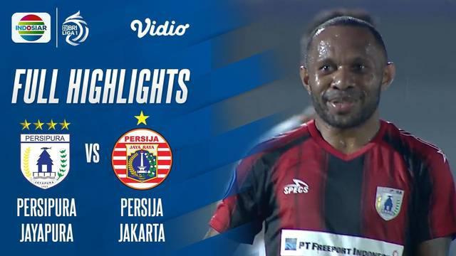 Berita video highlights laga pekan ketiga BRI Liga 1 2021/2022 antara Persipura Jayapura melawan Persija Jakarta yang berakhir dengan skor 0-0, Minggu (19/9/2021) malam hari WIB.