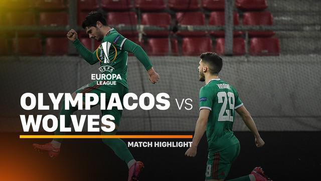 Berita video highlights leg I babak 16 besar Liga Europa 2019-2020 antara Olympiakos melawan Wolves (Wolverhampton Wanderers) yang berakhir dengan skor 1-1 di Stadio Georgios Karaiskaki, Kamis (13/3/2020).