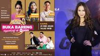 Golda Coffe KapanLagi Buka Puasa Bareng menghadirkan Lalahuta, Monita Tahalea, Chef Yuda Bustara hingga Pevita Perace.