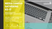 Pendaftaran kegiatan ini gratis dan terbatas hanya untuk 150 mahasiswa di Jabodetabek, setiap peserta akan mendapatkan e-certificate dari Liputan6.com.
