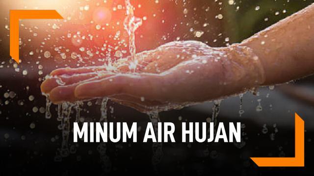 Cara Buat Air Hujan Aman Diminum