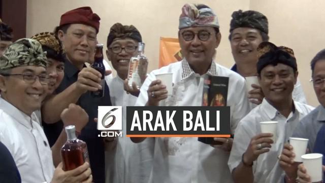 Keberadaan Arak Bali yang di produksi petani Karangasem, Bali masih dianggap ilegal. Berbagai cara dilakukan pihak Bali untuk melegalkan Arak Bali yang merupakan warisan budaya dan kearifan lokal.
