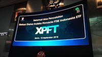 Pencatatan reksa dana XPFT (Foto:Liputan6.com/Bawono Y)