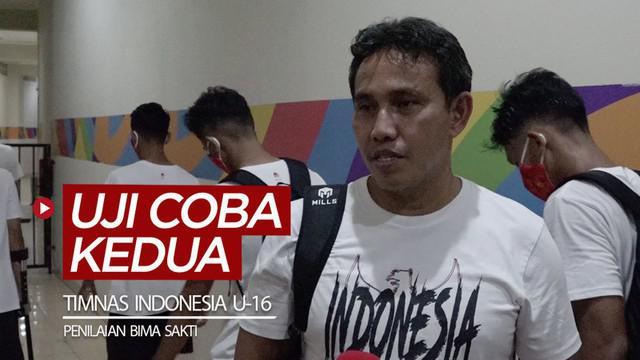 Berita video Bima Sakti memberi penilaiannya untuk Timnas Indonesia U-16 di uji coba kedua pada Selasa (28/7/2020).