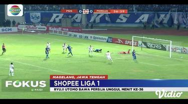 PSIS Semarang menangkan pertandingan melawan Persija Jakarta di laga Shopee Liga 1. Hasil ini membuat PSIS Semarang menduduki peringkat sembilan klaseman sementara.