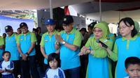 Direktorat Jenderal Sumber Daya Air (SDA) Kementerian Pekerjaan Umum dan Perumahan Rakyat (PUPR) melaksanakan acara Puncak Hari Air Dunia (HAD) XXVII, di Situ Lido Bogor Jawa Barat.