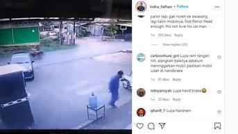 Video Viral Mobil Mundur Sendiri, Pengemudinya Bikin Warganet Geram