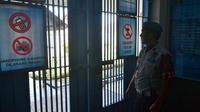 Petugas Lapas di Nusakambangan. (Liputan6.com)