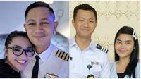 Selebritis Tanah Air yang Punya Pasangan Seorang Pilot, Dibawa Terbang Terus (sumber: Instagram/fitricarlina dan isdadahlia)