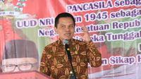 Sekretaris Jenderal MPR, Dr. Ma'ruf Cahyono menilai Pemilu Serentak pada 17 April 2019 merupakan sarana dan tempat dimana rakyat dimuliakan berada di panggung terdepan.