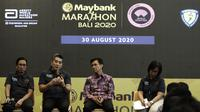 Konferensi pers Maybank Marathon 2020. (Bola.com/Yoppy Renato)