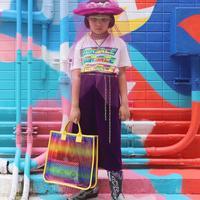Berani tabrak warna dan motif, style unik dan penuh karakter dari Coco (Foto: Instagram/ Coco_Pinkprincess)