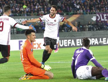 FOTO Eksklusif: AC Milan Cukur Habis FK Austria Wien