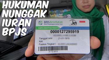 Video Top 3 hari ini ada berita terkait hukuman bagi penunggak iuaran BPJS, Agung Ilmu Mangkunegara resmi menjadi tahanan KPK, dan astronaut ganti baterai stasiuan luar angkasa.