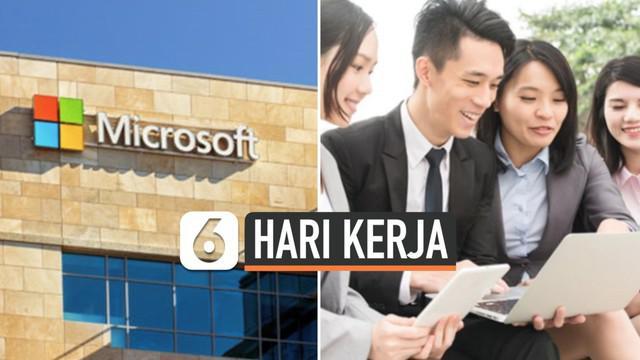 Microsoft Jepang memberikan tantangan kepada seluruh karyawannya untuk bekerja hanya 4 hari dalam seminggu. Dan hasil eksperimen tersebut menunjukkan hampir 40 persen pekerjanya memberikan peningkatan produktivitas bekerja yang baik.