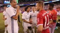 Real Madrid dan Bayern Munchen bertemu pada partai persahabatan internasional di Amerika Serikat, awal musim panas tahun lalu. Kedua tim bertemu pada babak peremparfinal Liga Champions 2016-2017.  (UEFA.com)