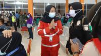 PMI Bantu Pendataan Korban Pesawat Jatuh. dok.humas PMI