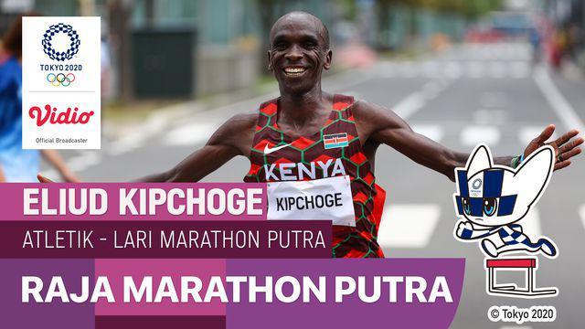 Berita Video, Atlet Kenya, Eliud Kipchoge Berhasil Raih Emas di Olimpiade Tokyo 2020 pada Minggu (8/8/2021)
