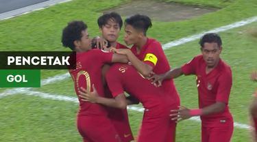 Berita video para pencetak gol dari Timnas Indonesia U-16 yang berjuang hingga perempat final Piala AFC U-16 2018 di Malaysia.