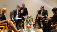 Pertemuan IMF dapat menjadi momen Kementerian Perhubungan mensosialisasikan perkembangan pembangunan dan peluang investasi transportasi di Indonesia.(sumber foto : BKIP Kemenhub)