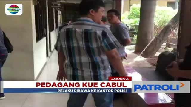 Iming-imingi uang 10 ribu, seorang pedagang kue di Penjaringan, Jakarta Utara, cabuli anak di bawah umur.